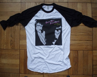 Hall and Oates t-shirt new vintage style concert tour band private eyes choose size XS-3XL