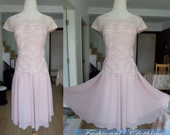 pink dress summer dress short sleeve lace chiffon dress clothing long dress for women vintage dress party dress