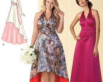 Simplicity Sewing Pattern 1406 Misses' and Plus Size Special Occasion Dress