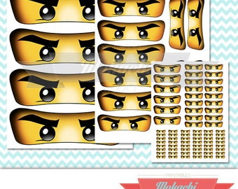 Ninjago Eyes Stickers