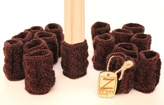 Knit Crochet Chair Socks Knit Crochet Chair Leg by ChairSocks
