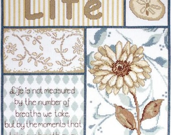 Life's Moments Counted Cross Stitch Kit