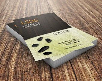Custom Business Card | Landscape Design | Landscape | Pre-made Business Cards | Personalized Business Cards