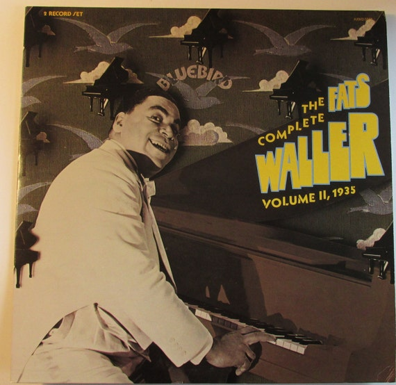 The Complete Fats Waller Vol. 2 1935 2 lps from the original pianist/singer/songwriter
