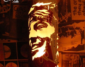 Bruce Springsteen Beer Can Lantern: The E Street Band Pop Art Portrait Lamp - Unique Gift!