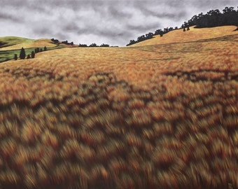"""1 print """" Pyrenees landscape 1"""", limited edition"""