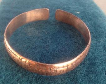 Tibetan Copper Bangles