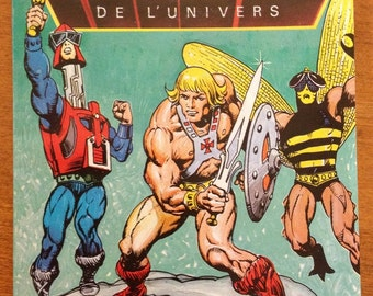 He-Man and the Insect People - Masters of the Universe mini comic He-Man 1985
