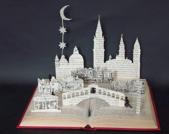 The Thief Lord Book Sculpture Book Art Altered Book