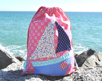 Bag fabric lunch boat