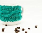Knitted Cup / Mug Cozy ~ Ready~ Mug Warmer ~ Knit Coffee Cozy ~ Knit Tea Cozy ~ Coffee Cup Sleeve