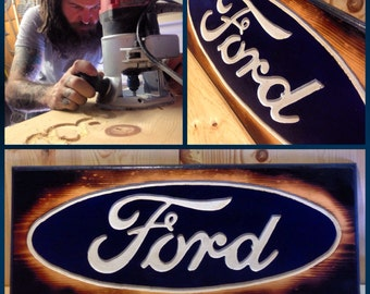 Handmade Ford Sign