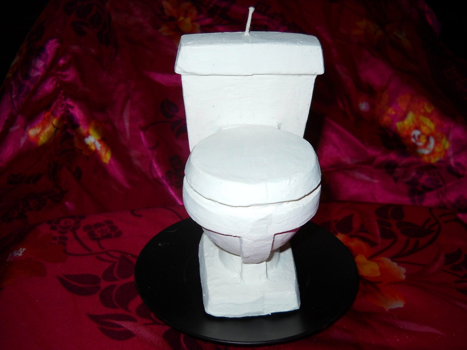 Toilet candle bathroom decor toilet tank topper gift ideas for Bathroom decor with candles