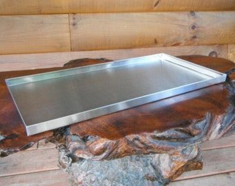 Brushed Stainless Steel Tray