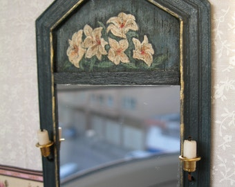 Mirror miniature for dollhouses scale 1/12