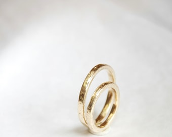 Simplicity - gold wedding rings. Gold jewelry.