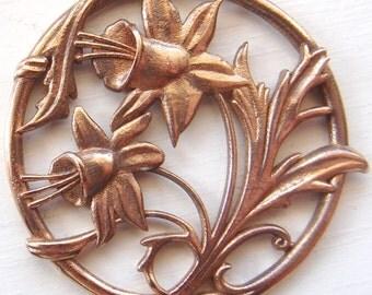 Easter lillies - Art nouveau style