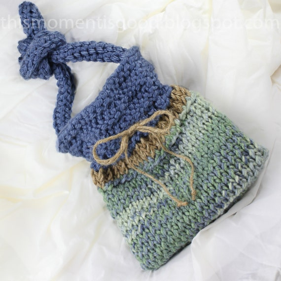 Weekender Bag Knitting Pattern : Loom Knit Handbag Pattern. Quick and Easy Loom Knitting Pattern For A Super C...