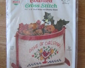Counted Cross Stitch kit Days of Christmas Oval Hoop & Display Stand  Gallery of Stitches Piggly Wiggly Country Frame Collection Bucilla kit