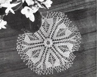 Vintage Crochet Mat/Doily Pattern