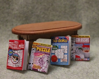 Puzzle Magazines For Dollhouse