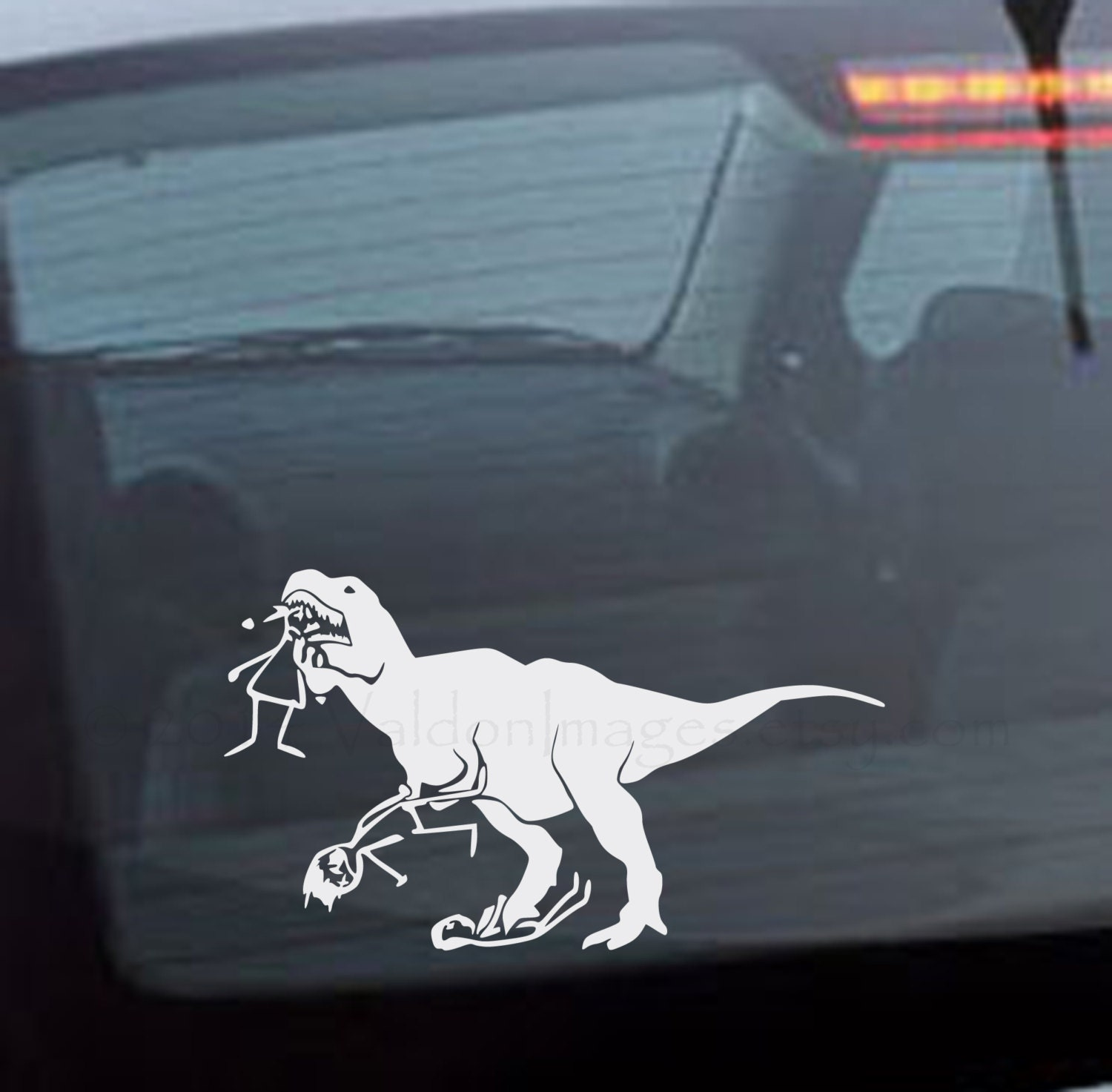 Unavailable listing on etsy for T rex family