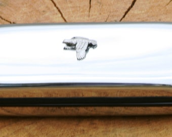 Quail Metal Pen Case & Ball Point Set Gift FREE ENGRAVING