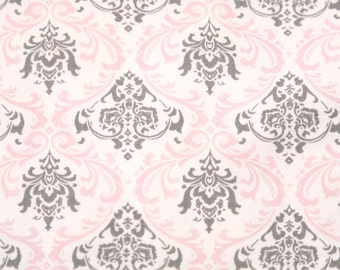 """MADISON  Bella Pink/Grey Gray or choice of 10 colors 54"""" wide Premier Prints Fabric By The yard decorator fabric FAST SHIPPING"""