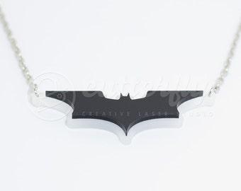 FREE SHIPPING - Dark Knight Batman Necklace
