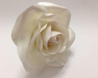 Gum Paste Rose in White