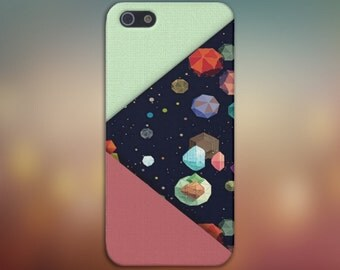 Geometric Planets x Moon Rocks Case for iPhone 6 6 Plus iPhone 7  Samsung Galaxy s8 edge s6 and Note 5  S8 Plus Phone Case, Google Pixel