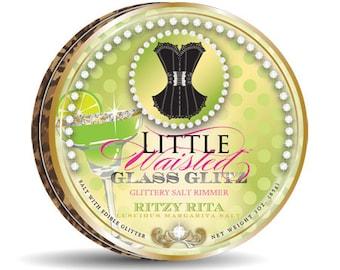 Ritzy Rita Glass Glitz - Edible Glitter Salt Margarita Rimmer