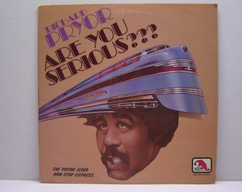 Richard Pryor / are you serious, On Laff Records # 196 Album LP Vinyl