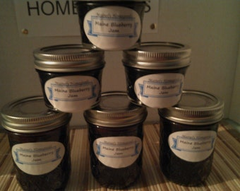Maine Blueberry Jam