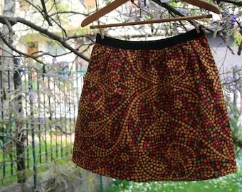 ethnic pattern skirt