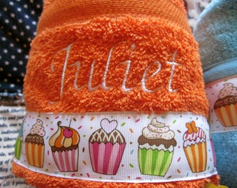 Personalized Children's Hooded Bath Towel