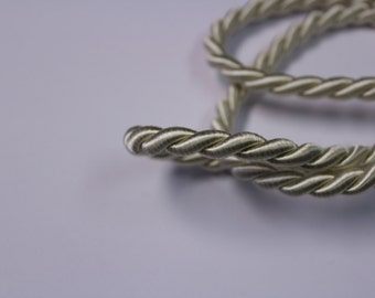 White Braided Cording - Decorative Trim 536