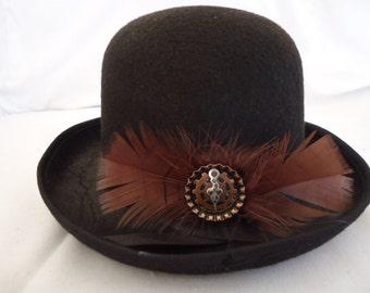 Steam punk bowlers hat
