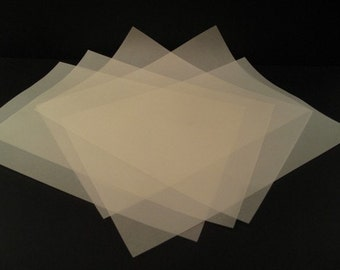 25 x A4 Vellum Translucent Tracing Paper 110gsm For Laser & Inkjet Printers