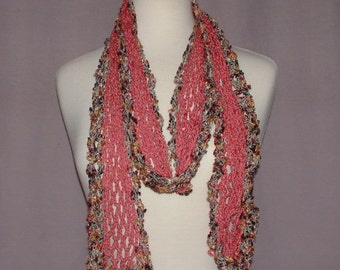 Rose Accent Scarf from Maui, HI - SP00010