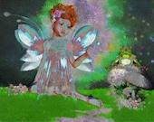 Canna Fairy Print
