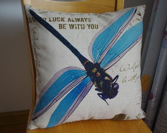 Dragonfly pillow cover,cute Dragonfly pillow