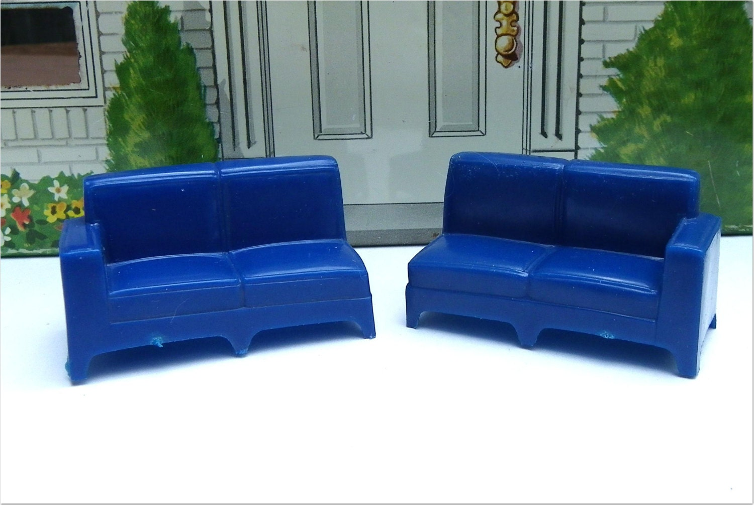 marx rancher sofa alternative harder to by madhatterminiatures. Black Bedroom Furniture Sets. Home Design Ideas
