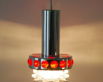 Pendant Light, Raak, Space Age. 70' Vintage lamp