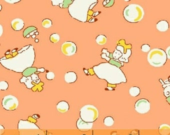 Storybook Playtime by Whistler Studio Kids Blowing Bubbles Fat Quarter (39301)