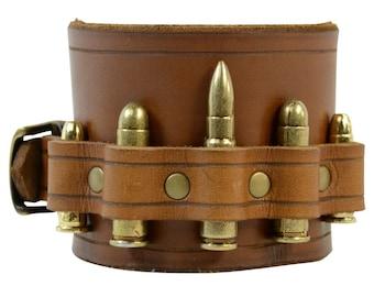 Ammunition Wrist Cuff - Steampunk Bracelet - #DK6072