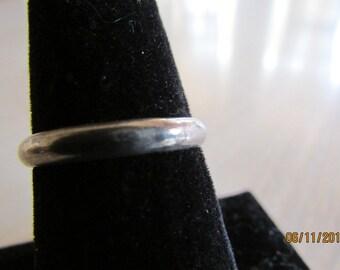 Vintage Sterling Silver Band Size 6 3/4