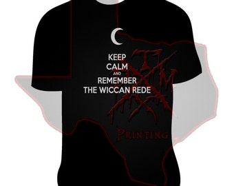 Keep Calm And Remember The Wiccan Rede