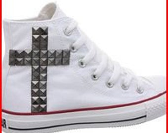 Hi Studded Cross Converse (Women)