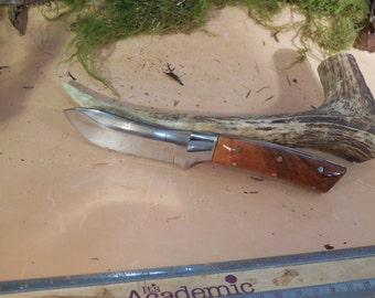 Wyoming Skinner lebanese cedar Wood Handles Hunting Knife